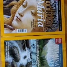 Doua reviste national geographic calendar 2016 Helmut ignat Delta Dunării