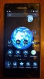 Doua telefoane Philips Xenium V787 Dual Sim, compatibile Digi, Negru, 16GB, Neblocat