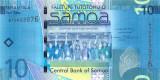 SAMOA █ bancnota █ 10 Tala █ 2008 █ P-39a █ UNC █ necirculata