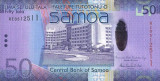 SAMOA █ bancnota █ 50 Tala █ 2014 █ P-41b █ UNC █ necirculata