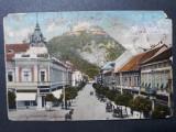 DEVA -  ANIMATIE DE EPOCA - TRASURI - INCEPUT DE 1900, Circulata, Fotografie