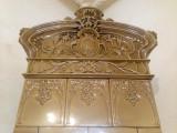 Sobă de teracotă Majolica Jugendstil