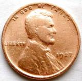 MOKAZIE , SUA , 1 CENT 1927, America de Nord