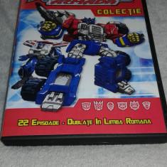 Transformers Armada - Colectie 5 DVD-uri Desene Animate Dublate Romana, cartoon