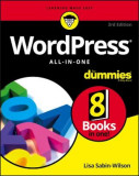 Wordpress All-In-One for Dummies, Paperback