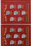 Rusia    2016     set   14 monede  comemorative  in mapa de prezentare   AUNC