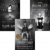 Miss Peregrine's Peculiar Children Collection Ransom Riggs 3 Book Set