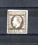 Romania   1871|72        Carol cu   barba 25 bani     bani    nedantelat