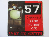 Vinil single 7'' Bruce Springsteen:57 Channels(And nothin' on),Columbia 1992