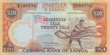 SAMOA █ bancnota █ 20 Tala █ 2002 █ P-35a █ UNC █ necirculata