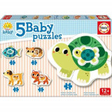 Puzzle Baby Pets 14 Piese - VV25755, Educa