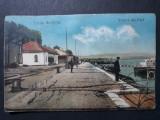 TURNU SEVERIN - VEDERE DIN PORT - PERIOADA INTERBELICA, Circulata, Fotografie