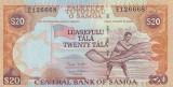 SAMOA █ bancnota █ 20 Tala █ 2002 █ P-35b █ UNC █ necirculata