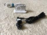 Ipod shuffle 2nd gen 1gb+dock Apple+casti JVC in ear,baterie 7ore volum maxim, 2nd generation, 1 Gb, Gri
