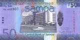SAMOA █ bancnota █ 50 Tala █ 2017 █ P-41c █ UNC █ necirculata