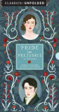Pride and Prejudice Unfolded: Retold in Pictures by Becca Stadtlander - See the World's Greatest Stories Unfold in 14 Scenes, Hardcover