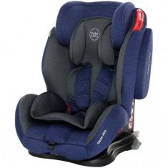 Scaun auto cu Isofix Salsa Pro - Coto Baby - Melange Albastru Inchis, 1-2-3 (9-36 kg)