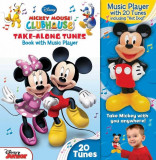 Disney Mickey Mouse Clubhouse Take-Along Tunes: Book with Music Player, Hardcover