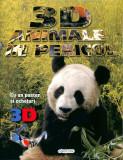 3D - Animale in pericol (poster+ochelari), girasol