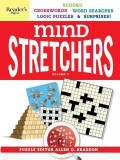 Reader's Digest Mind Stretchers Puzzle Book Vol.2: Number Puzzles, Crosswords, Word Searches, Logic Puzzles & Surprises, Paperback