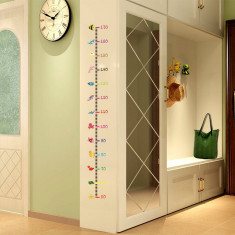 METRU DE PERETE pentru copii TALIOMETRU masurator sticker masurare inaltime NOU