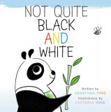 Not Quite Black and White Board Book, Hardcover