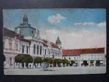 DEVA - PRIMARIA ORASULUI - PERIOADA INTERBELICA, Circulata, Fotografie