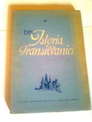 DIN ISTORIA TRANSILVANIEI ( volumul 1 ) ~ C. DAICOVICIU * V. CHERESTESIU foto