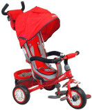 Tricicleta multifunctionala Sunny Steps Red, Baby Mix