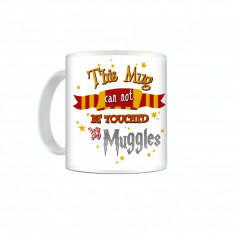 Cana Harry Potter - This Mug Can Not Be Touched By Muggles