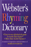 Webster's Rhyming Dictionary, Hardcover