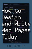 How to Design and Write Web Pages Today, Paperback