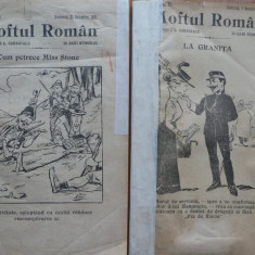 2 numere din revista Moftul roman ; Director Caragiale , nr. 27 si 29 / 1901