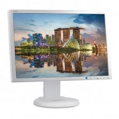Monitor 22 inch LCD, NEC MultiSync E222W, Silver & White, Grad B