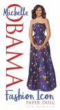 Michelle Obama Fashion Icon Paper Doll, Paperback