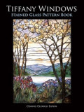 Tiffany Windows Stained Glass Pattern Book, Paperback
