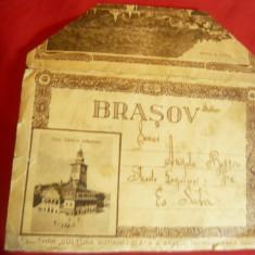 Carnet cu 10 fotografii inedite Brasov Ed. Cultura Romaneasca SA Brasov