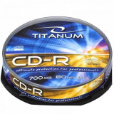Mediu optic Esperanza CD-R TITANUM 700MB 52x cake box 10 bucati