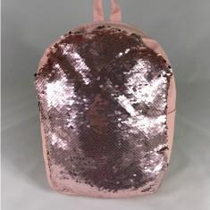 Rucsac roz cu paiete+CADOU