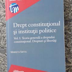 Drept Constitutional Si Institutii Politice -Safta VOL 1 TEORIA GENERALA