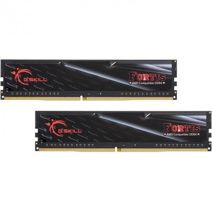 Memorie GSKill Fortis for AMD 16GB DDR4 2133 MHz CL15 1.2v Dual Channel Kit