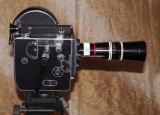 Aparat de filmat pe 16 mm Paillard Bolex H16 cu obiectiv 150 mm. Swiss Made.