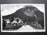 DEVA - PARCUL CU CETATEA - CENZURA DEVA 1943, Circulata, Fotografie