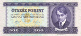 UNGARIA █ bancnota █ 500 Forint █ 1990 █ P-175 █ UNC █ necirculata