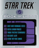 Star Trek: The Book of Lists, Hardcover