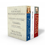 Walter Isaacson: The Genius Biographies: Benjamin Franklin, Einstein, and Steve Jobs, Paperback
