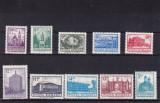 ROMANIA 1972   LP 817   MONUMENTE  II  (UZUALE)   SERIE  MNH, Nestampilat