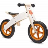 Bicicleta fara Pedale din Lemn Woody 2 in 1 Beige, Toyz by Caretero