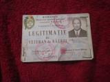 Legitimatie veteran de razboi a1