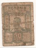 ROMANIA 50 BANI 1917 U